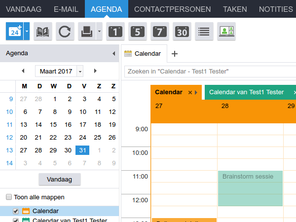 WebApp agenda